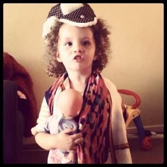 Eliana dress up