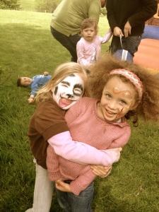 Eliana and Kya