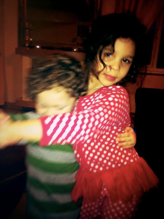 Josiah & Olivia dancing