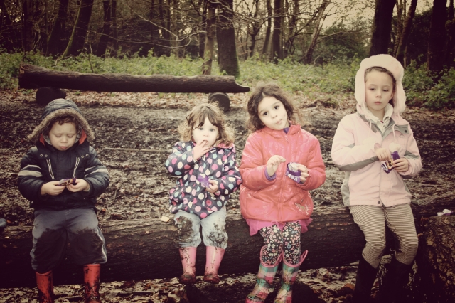 Kids at Box Hill