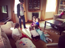 naomi and kids