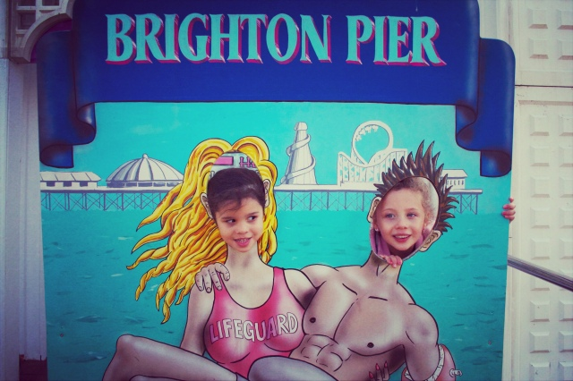 girls brighton poster