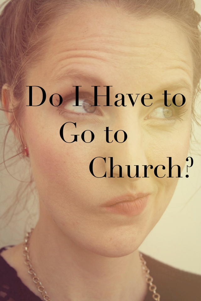 Do I have to go to Church?  Find out God's purpose for Church.